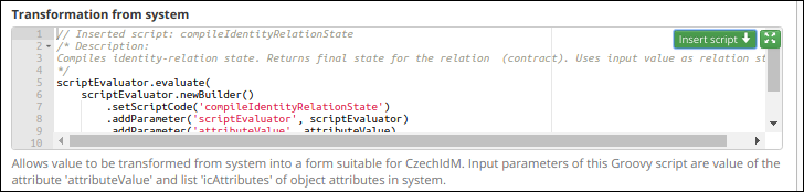 Groovy scripts and their authorization [CzechIdM Identity