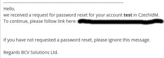 Modules - pwd-reset: How to reset forgotten password