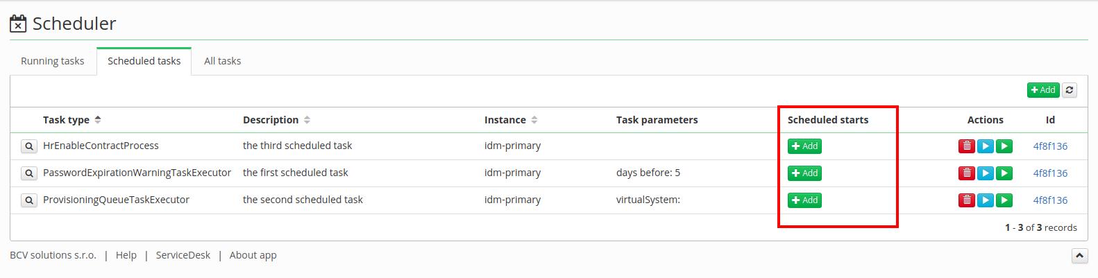 Task Scheduler - create and configure a trigger [CzechIdM